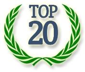 TOP-20 детских лагерей на зимние каникулы 2016-2017 по количеству заказов