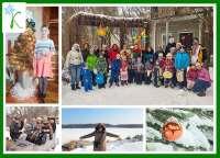 Детский лагерь Каникулы Души Зима 2018 Черкасская область/с. Лепляво