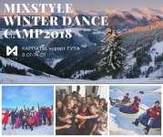 Детский лагерь MIXSTYLE Dance Camp Зима 2018 Карпаты/c. Гута