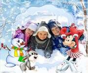 Детский лагерь ProfyCamp - Зимове Диво (Зима 2017) Карпаты/с.Осмолода