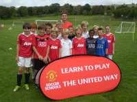 Детский лагерь Manchester United Soccer Schools Великобритания/Рединг