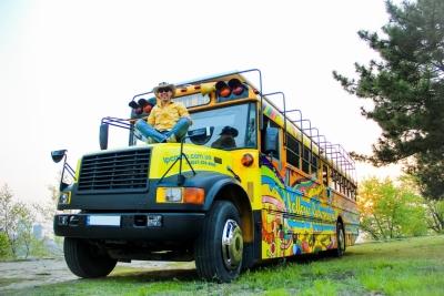 Детский лагерь Edelweiss (Эдельвейс) - Overland Bus Yellow Submarine Camp Карпаты/Львов