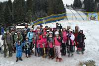 Детский лагерь Five Stars в Карпатах (Яремче) Зима 2018 Карпаты/Яремче